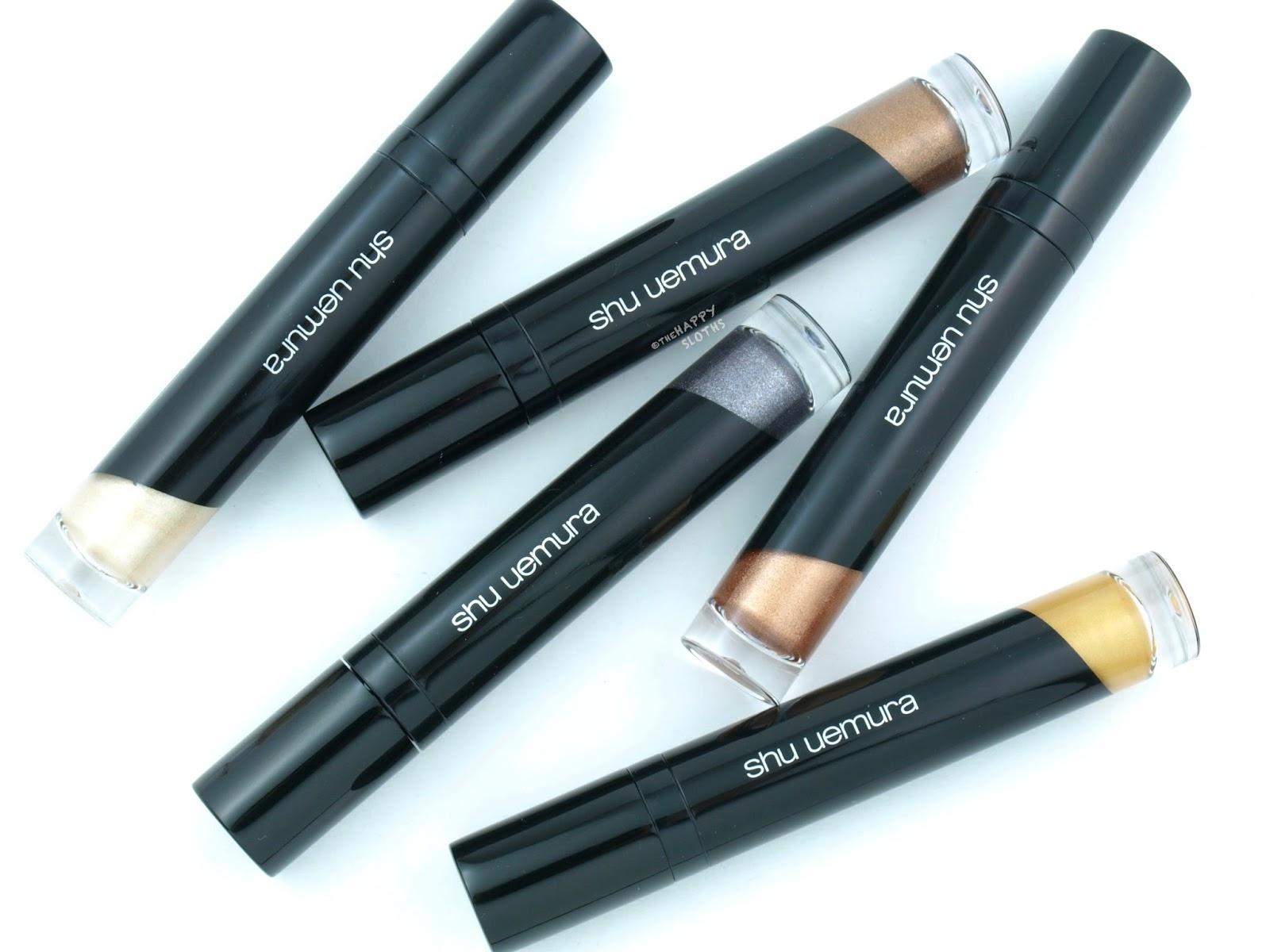 Shu Uemura Eye Foil Liquid Eye Shadow: Review and Swatches