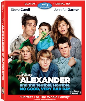 Blu-ray Review - Alexander and the Terrible, Horrible, No Good, Very Bad Day