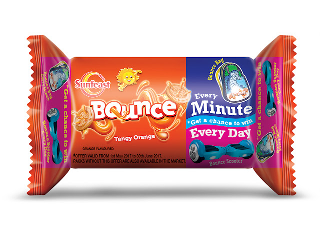 A win-win situation for all the children with Sunfeast Bounce