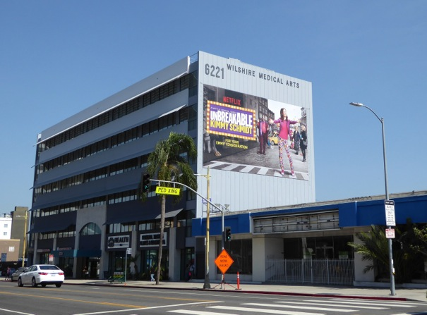 Giant Unbreakable Kimmy Schmidt 2016 Emmy FYC billboard