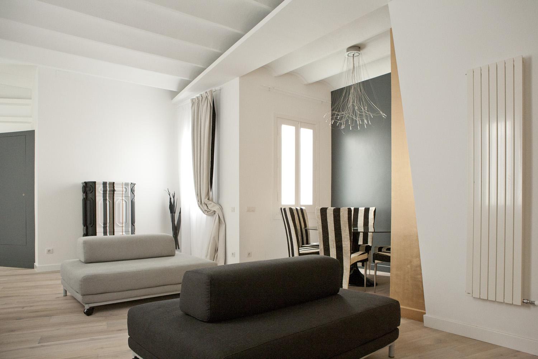 Hogares frescos hermoso proyecto de renovaci n en - Disenador de interiores barcelona ...