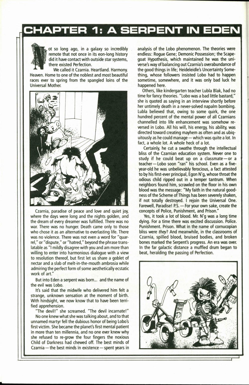 Read online Lobo (1990) comic -  Issue #1 - 7