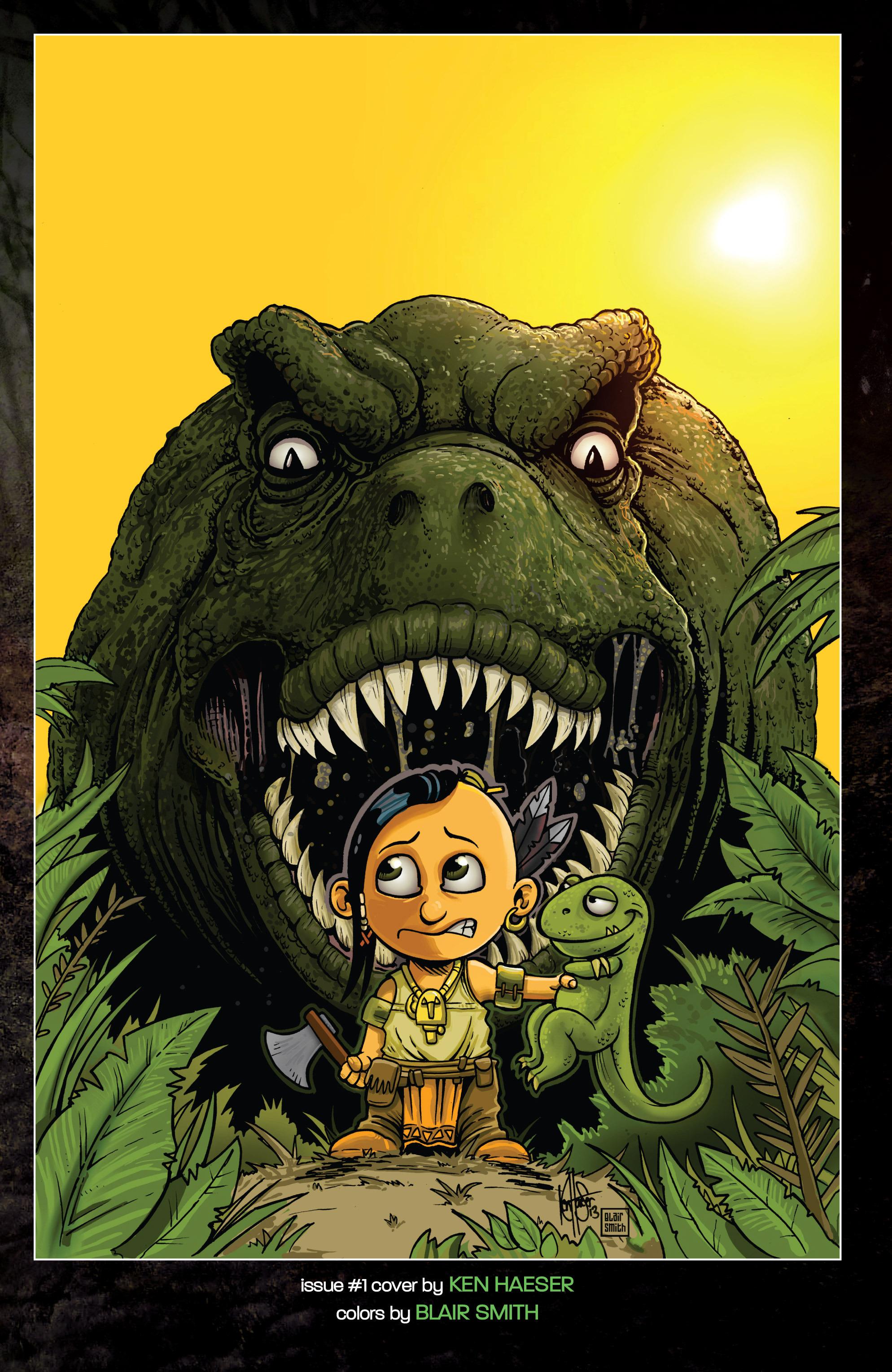 Read online Turok: Dinosaur Hunter (2014) comic -  Issue # _TPB 1 - 120