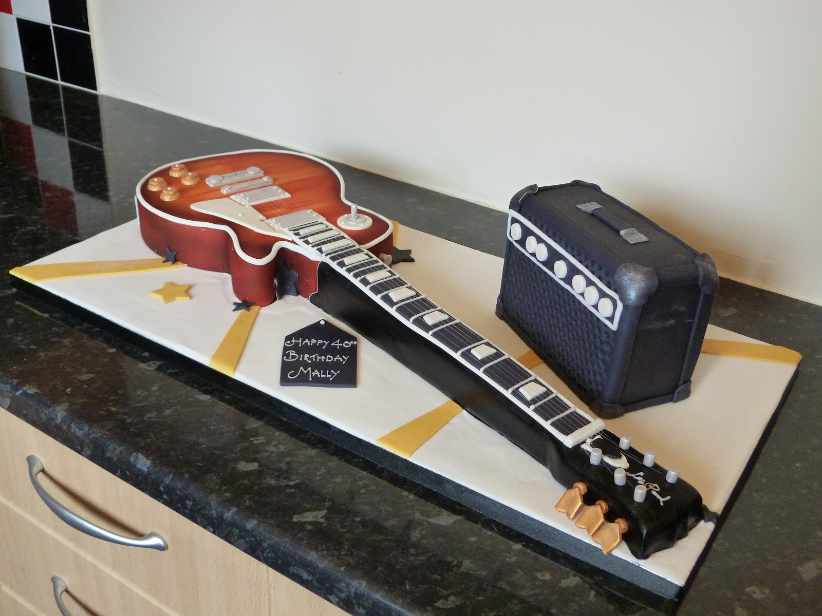 guitar templates for cakes - guitar cake cake ideas and designs