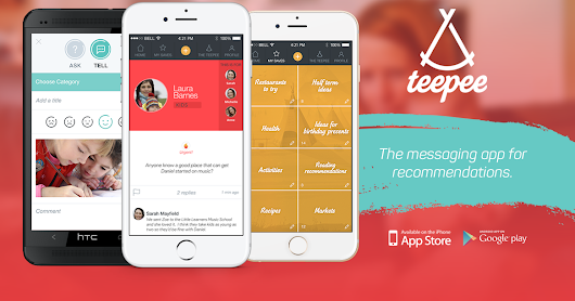 Why Every Mum Needs Teepee, the Messaging App for Recommendations