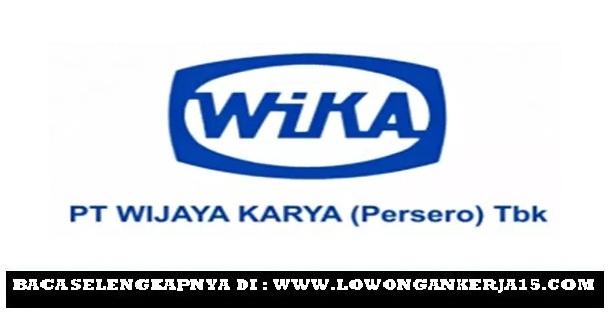 Rekrutmen Lowongan Kerja PT. Wijaya Karya (Persero) Tbk Via Undip Besar Besaran