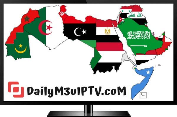 Arabic Free IPTV M3u Lists Unlimited Download 19/07/2019