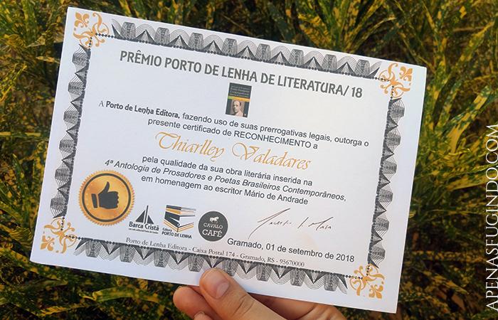 Antologia de Prosadores e Poetas Brasileiros Contemporâneos Porto de Lenha