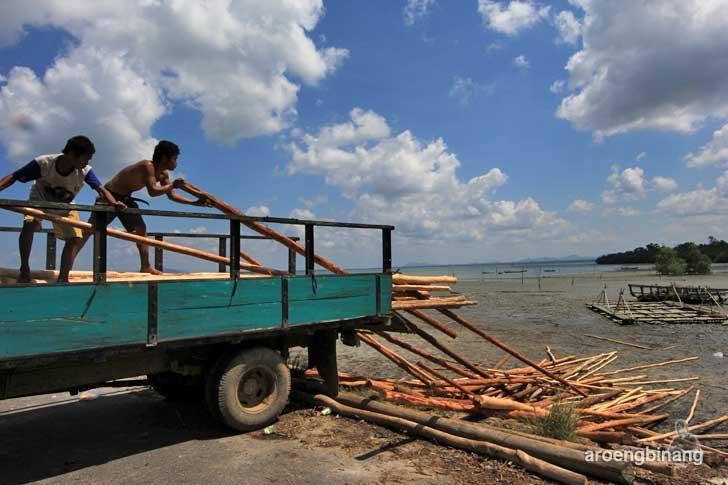 dermaga pelabuhan rakyat dendang belitung timur
