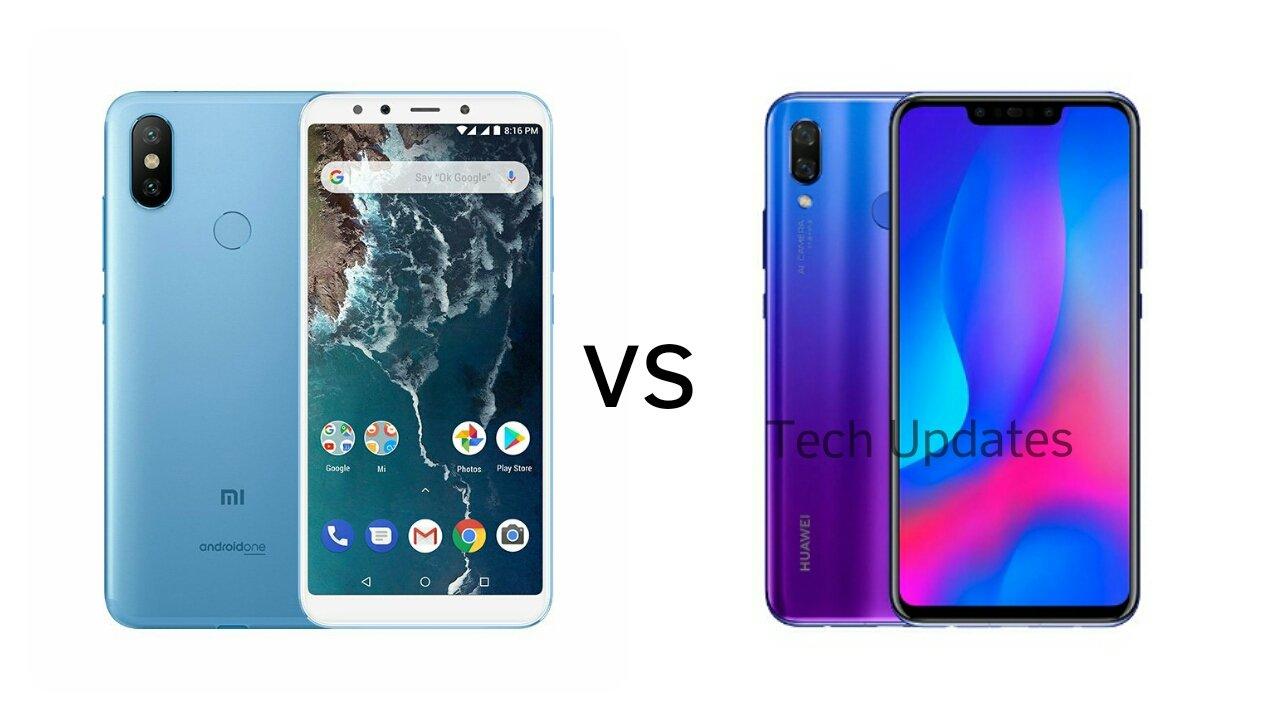 Xiaomi Mi A2 vs Huawei Nova 3i - Tech Updates