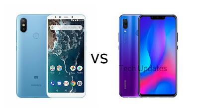 Xiaomi Mi A2 vs Huawei Nova 3i