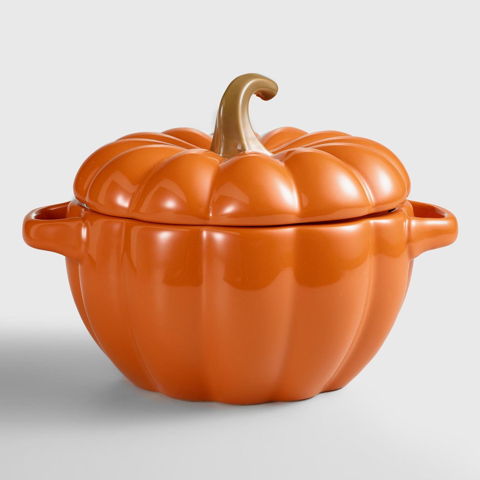Halloween or Thanksgiving Pumpkin Casserole