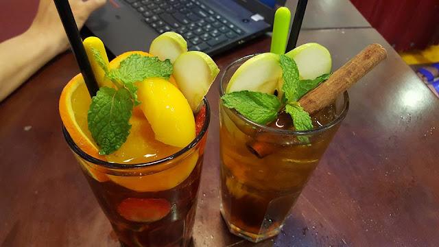Các loại trà trái cây