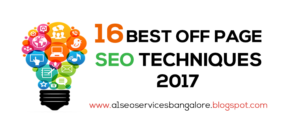 Off page SEO techniques 2017