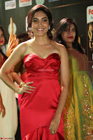 Reetu Varma smiling beauty in Deep Neck Red Gown at IIFA Utsavam Awards 2017  Day 2  Exclusive 22.JPG