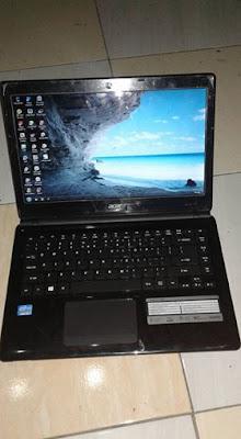 ACER ASPIRE E1-470G Core i3 - Spesifikasi dan harga Bekas
