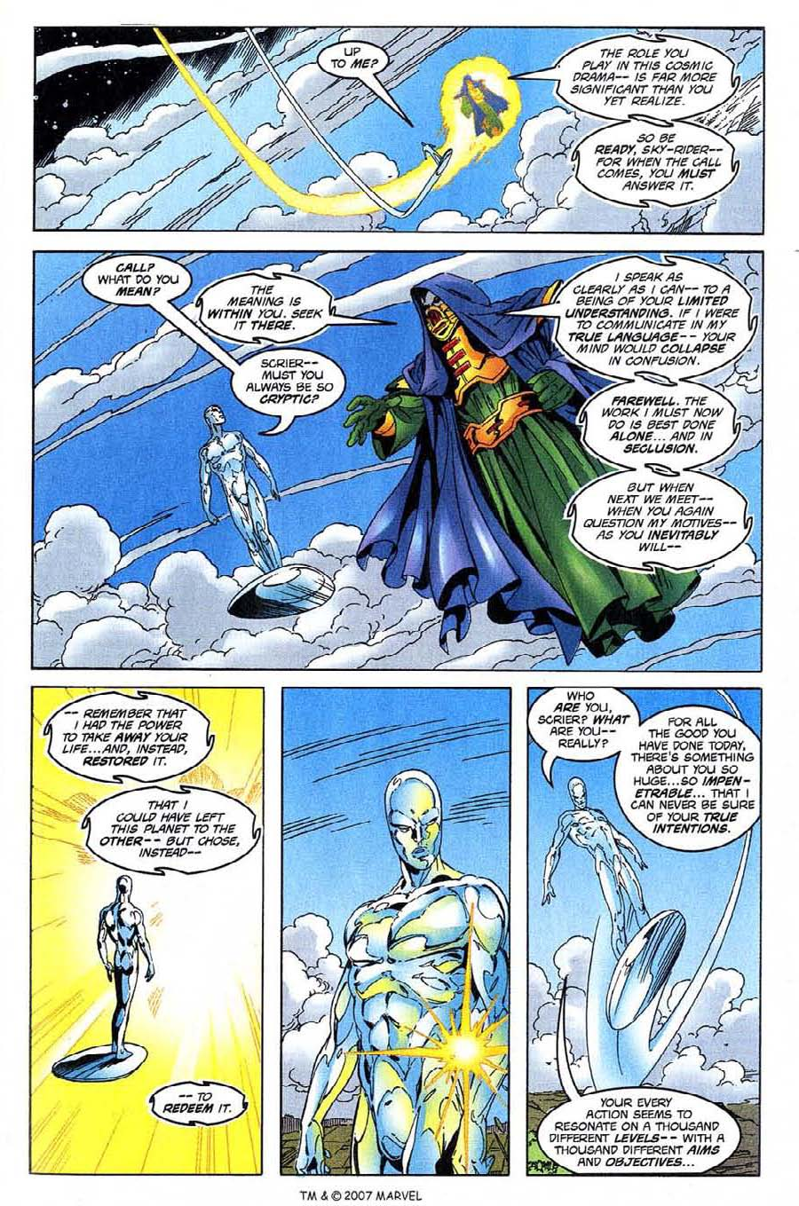 Read online Silver Surfer (1987) comic -  Issue #137 - 31