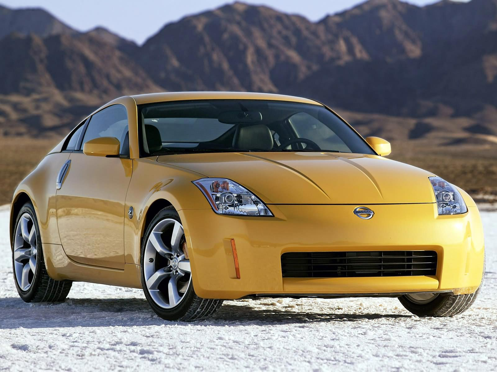 Luxury Car Nissan 350z Two Seat Sports That Was Manufactured By From 2002 To 2009