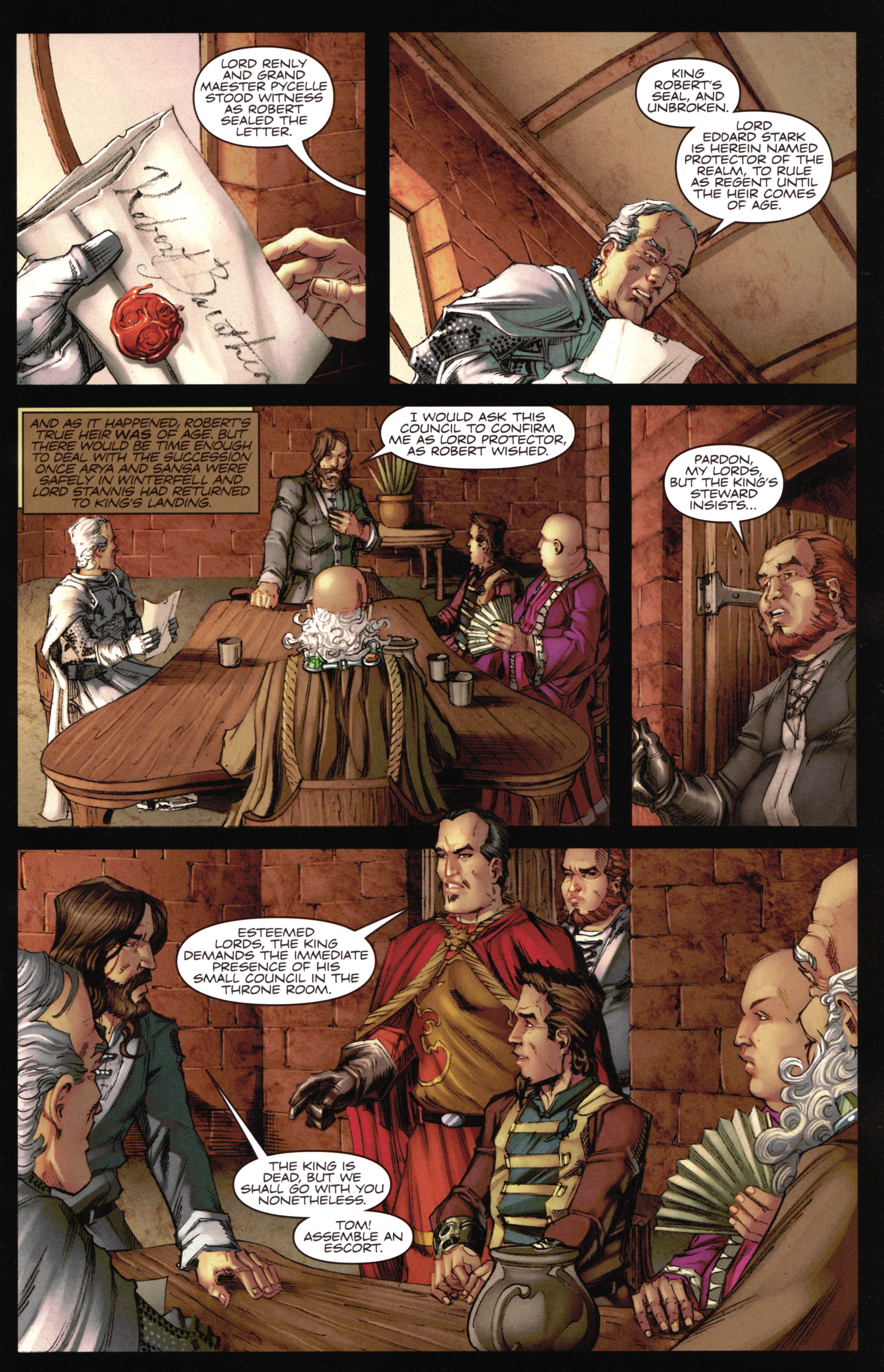 Read online A Game Of Thrones comic -  Issue #16 - 7