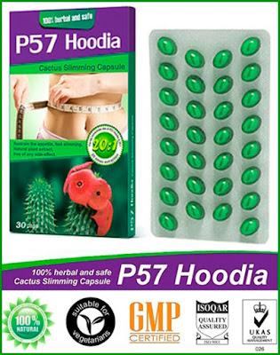 New P57 Hoodia Slimming Capsule Asli Versi Terbaru