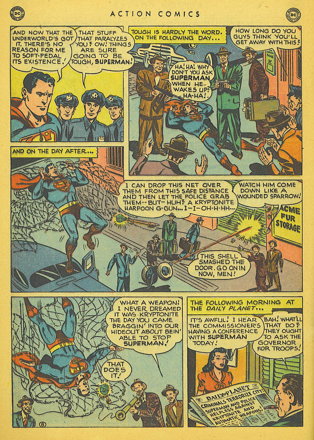 Read online Action Comics (1938) comic -  Issue #142 - 9