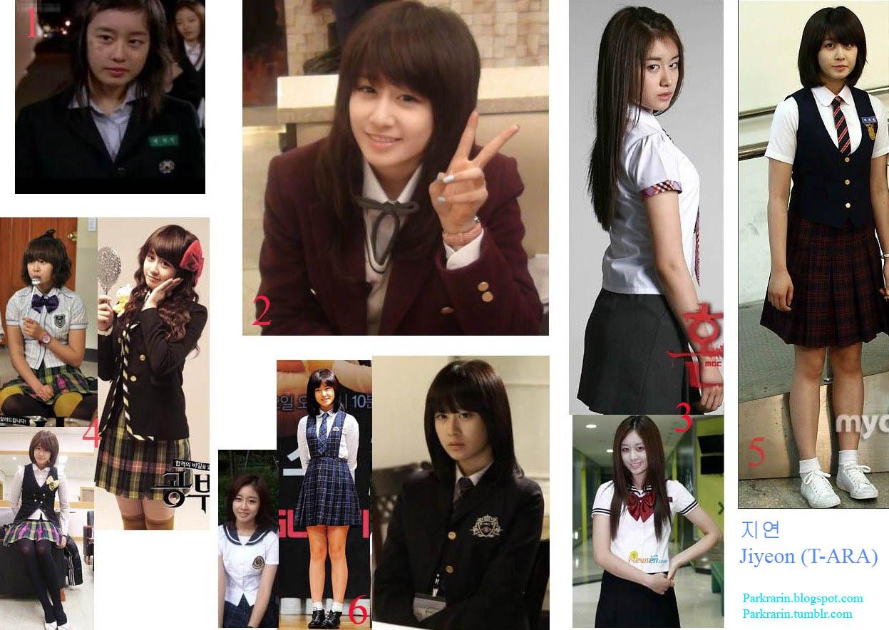 Adelita Khairani23 Seragam Sekolah Selebritis Korea