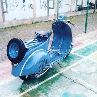 Dijual Motor ANTIK Vespa VL 2 th 56 - JAKARTA