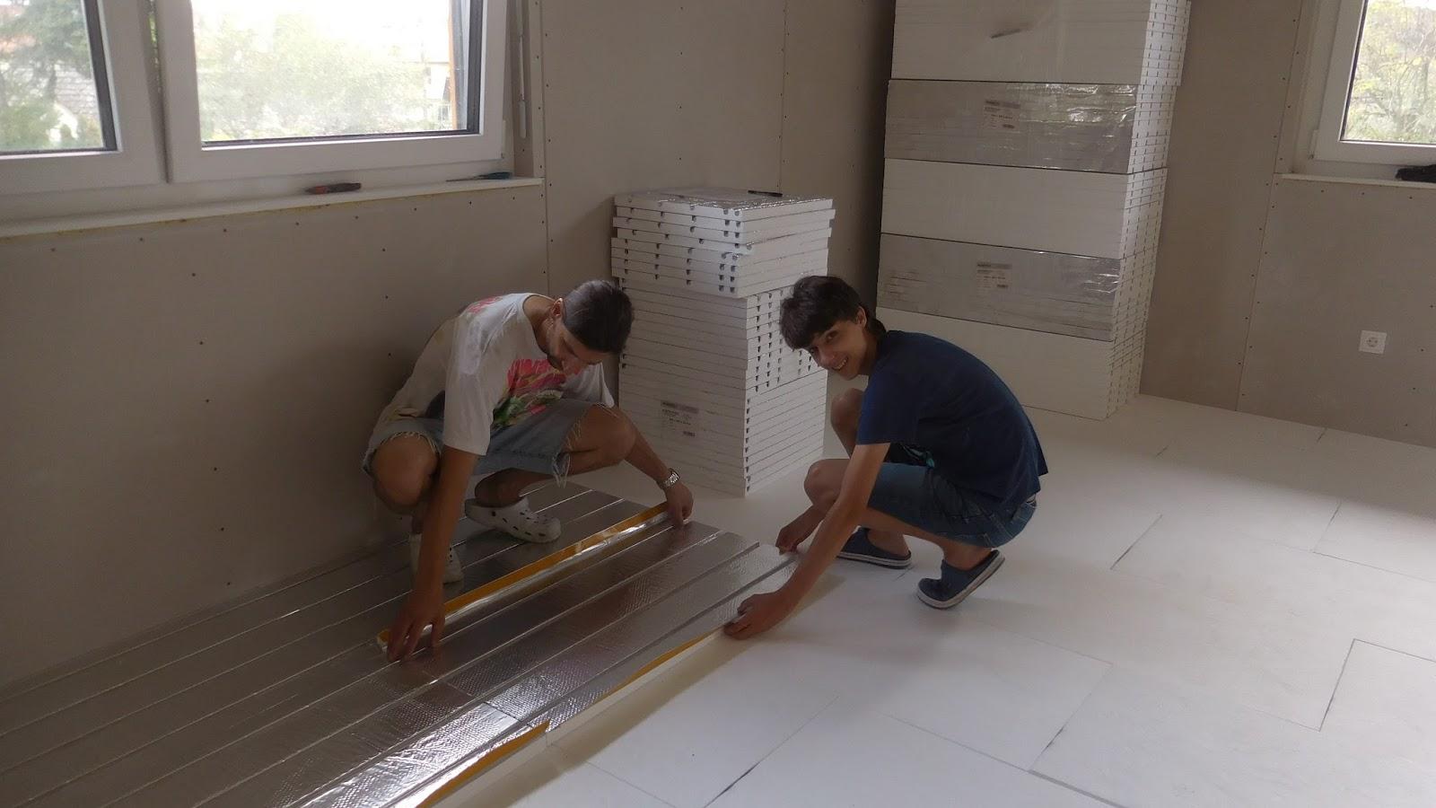 Schroli´s Baublog: und jetzt es Zimmer vom Buam