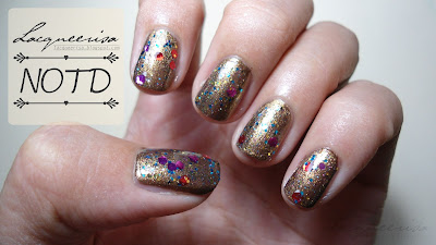 ShengJi #58 Glitter Nail Polish Review; NOTD