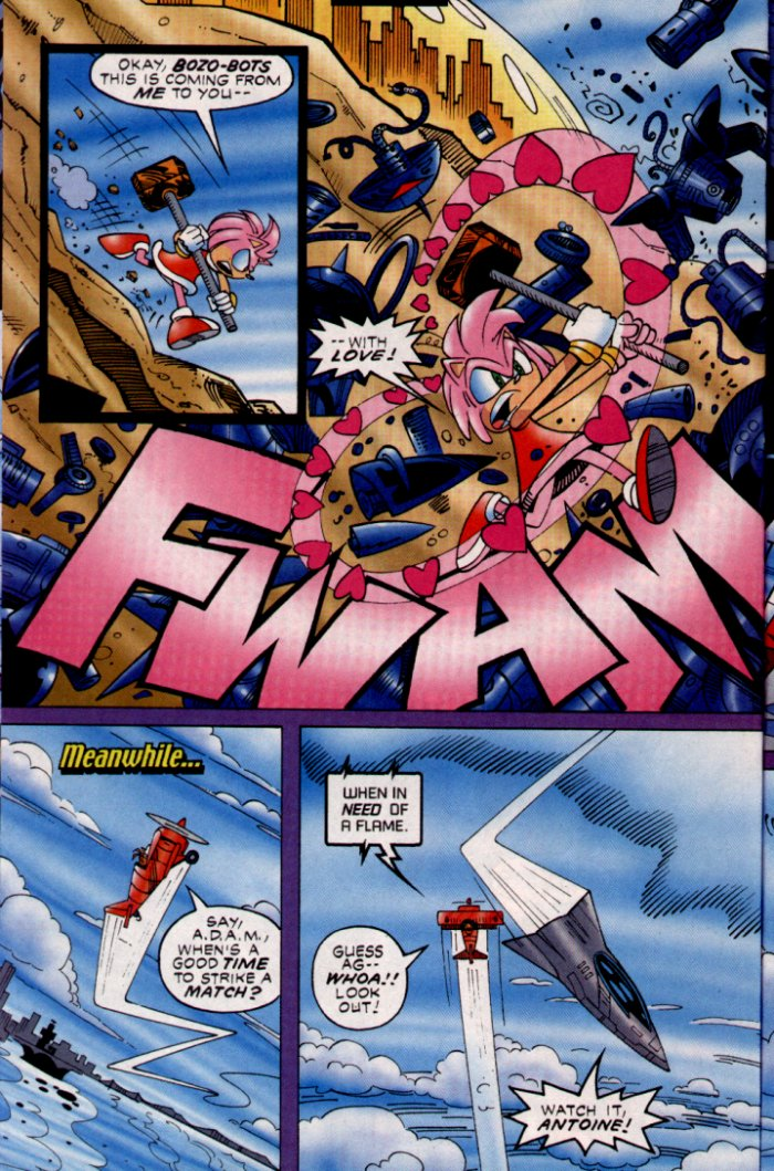 Read online Sonic The Hedgehog comic -  Issue #132 - 12