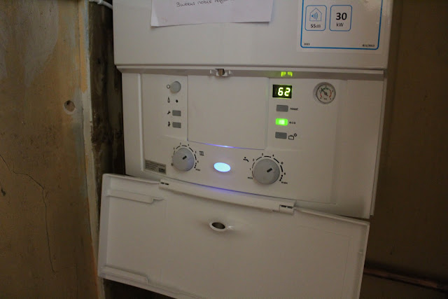 replacing a floor standing boiler with combi boiler and costs