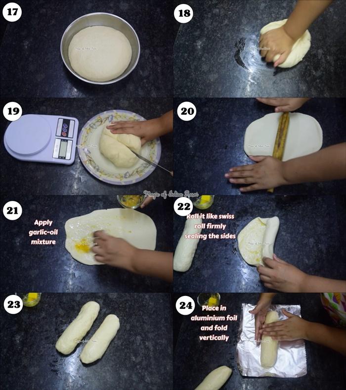 Homemade Garlic Loaf Bread Recipe - गार्लिक ब्रेड  रेसिपी - Priya R - Magic of Indian Rasoi