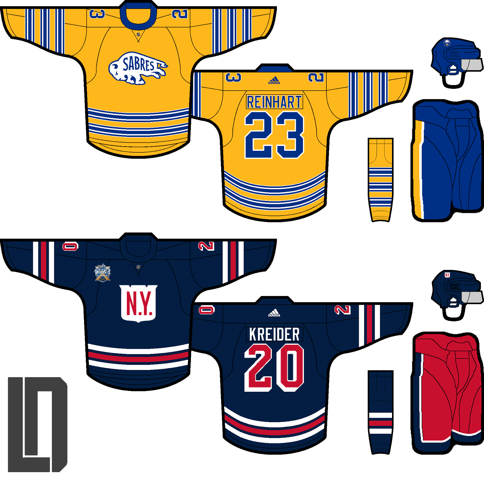 ... low priced ae3a2 73804 Personally I do not believe the Rangers will use  that logo on  sale c1200 87b5a 2018 2018 Winter Classic Jersey New York ... 2e866b04264