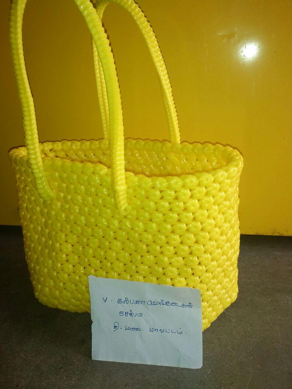 Basket Weaving Koodai Pinnuthal Part 2 : Maashaa designs basket models done by our members part