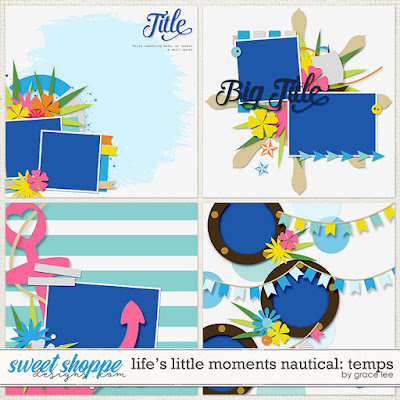 Life's Little Moments Nautical: Temps