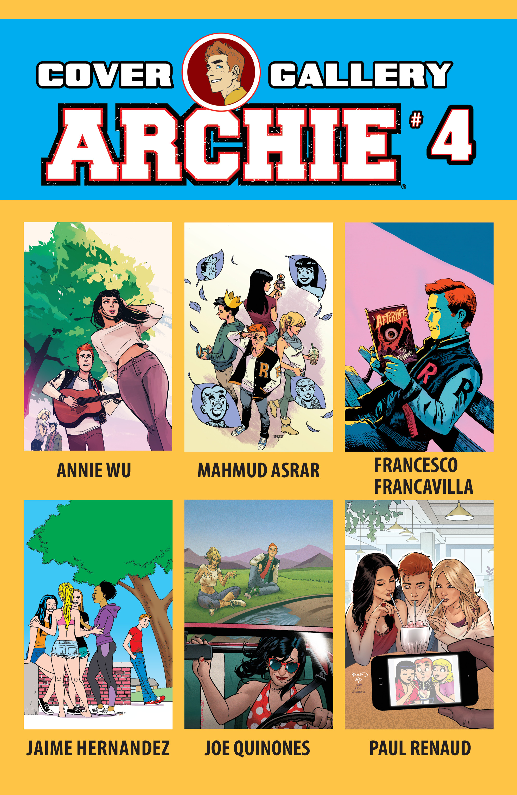 Read online Archie (2015) comic -  Issue #4 - 32