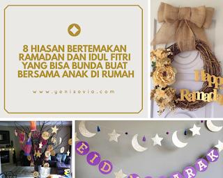 hiasan ramadhan dan idul fitri