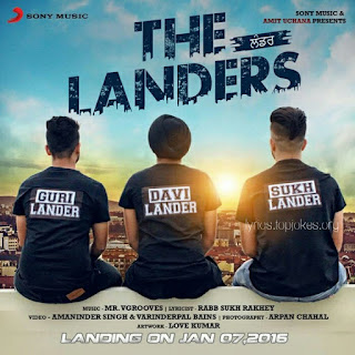 TIN TIN LYRICS: Latest Punjabi Song presented and sung by Guri Lander (The Landers). Music for this song is given by Mr V Grooves and Lyrics is penned by Guri Lander.