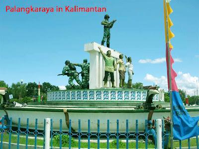 Palangkaraya in Kalimantan