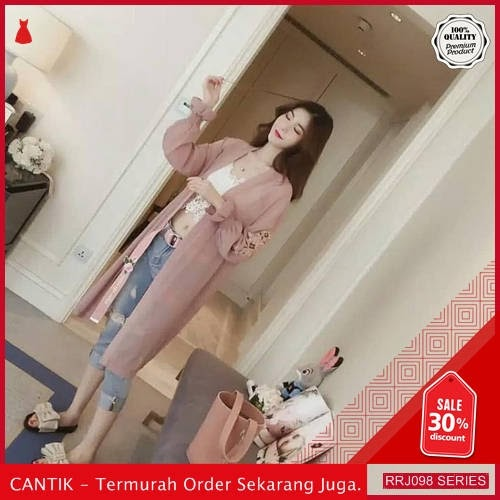 Jual RRJ098O125 Outerwear Viola Cardigan Wanita Mc Terbaru Trendy BMGShop
