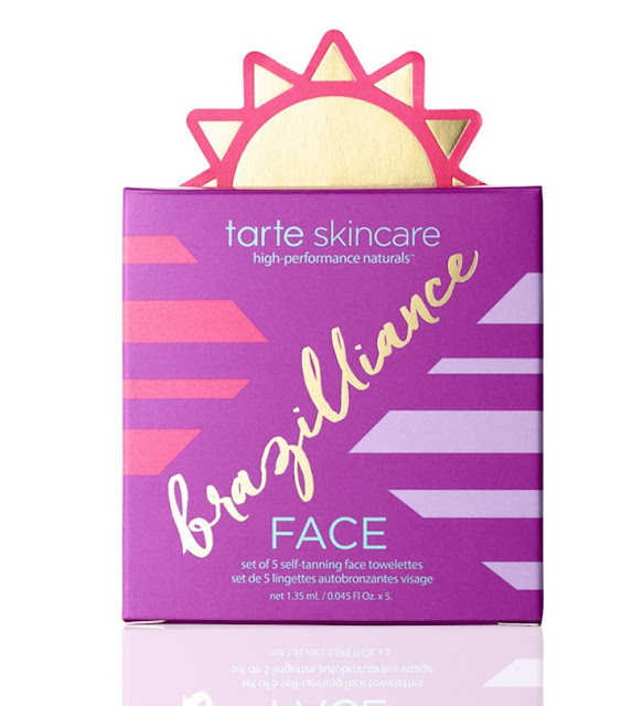 Tarte Brazilliance Set of 5 Self-Tanning Face Towelettes