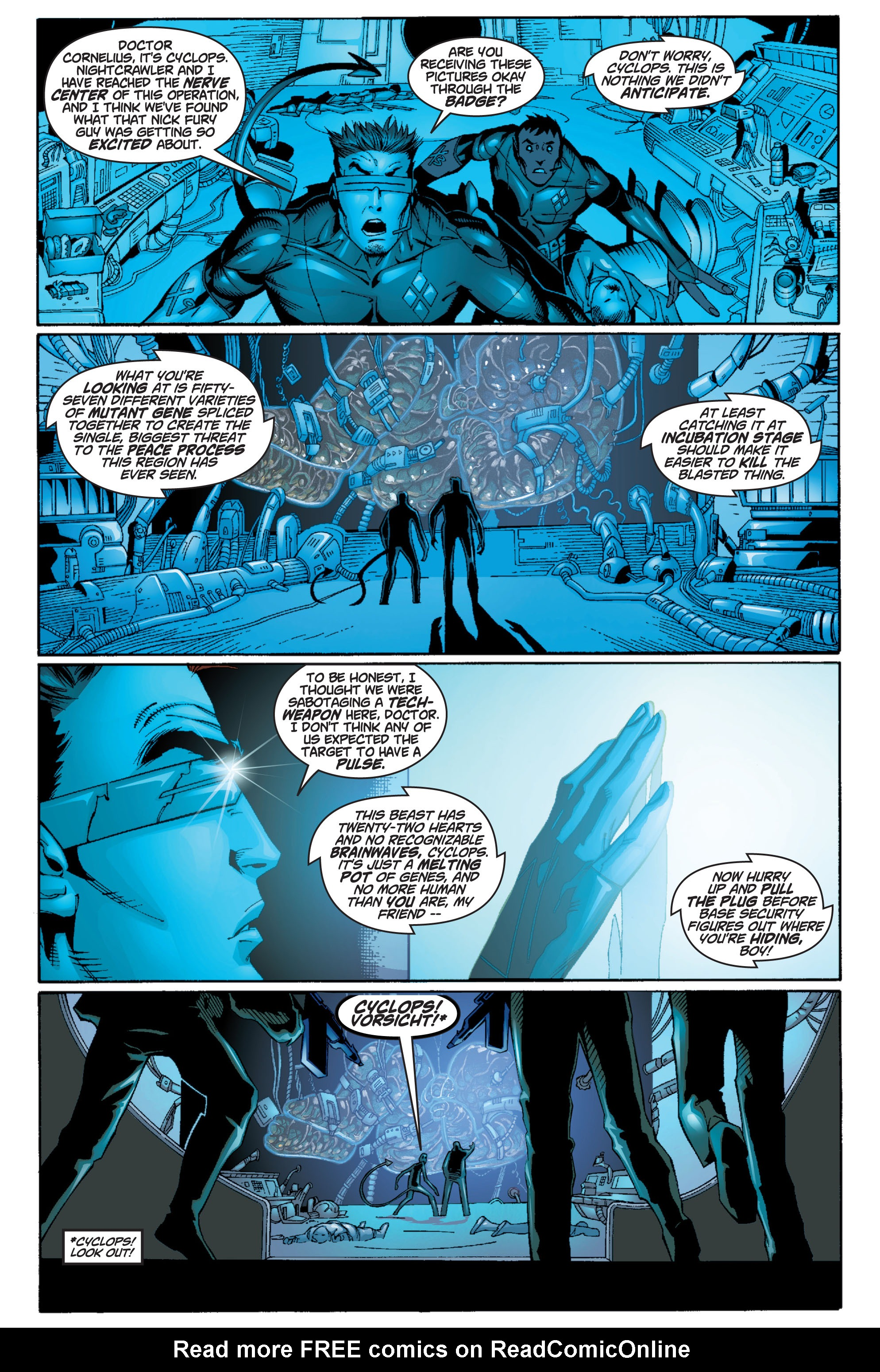 Read online Ultimate X-Men comic -  Issue #10 - 10
