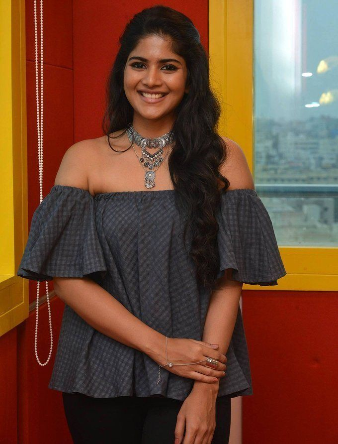Megha Akash at Radio Mirchi for LIE Movie Promotions