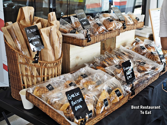 Danish, Eurosoft Bread, cookies and loaf cake by Le Pont Boulangerie