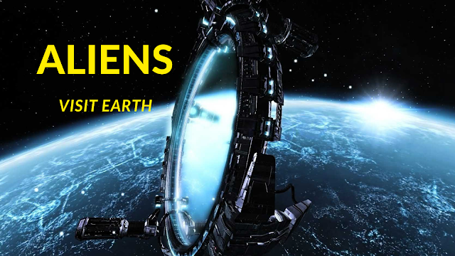Scientist at NASA says Aliens probably have visited Earth.