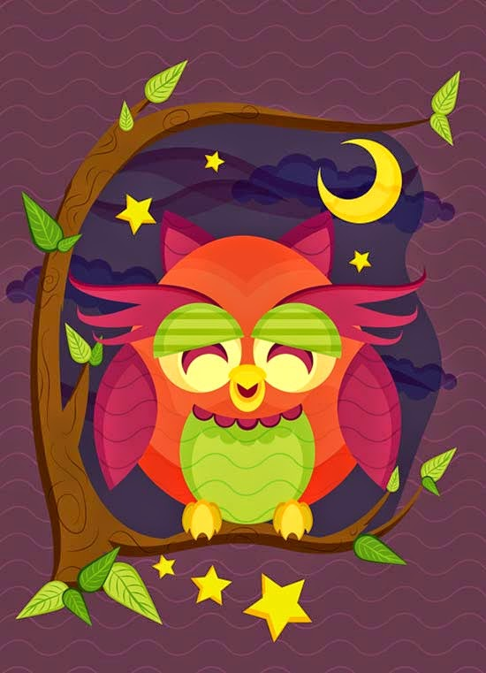Create a Resting Owl Scene With Brushes and Pattern