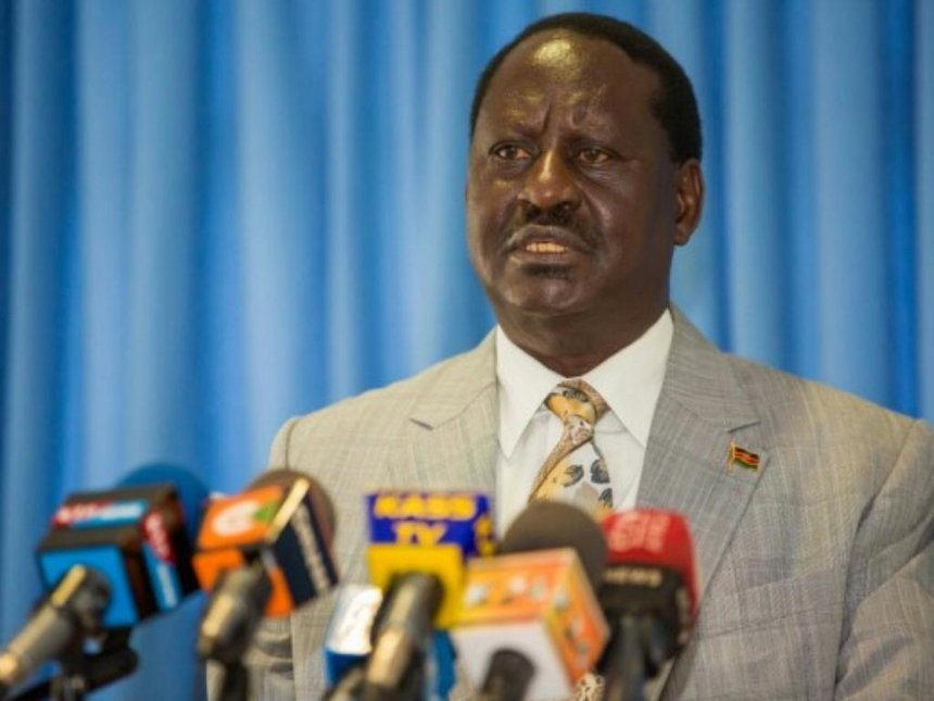 Raila Odinga To Sue Cambridge Analytica And Facebook