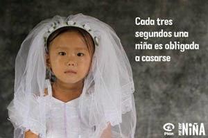 Cada 3 segundos una niña es obligada a casarse