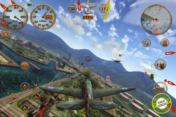 Sky Gamblers: Strom Raiders Full Apk + Data
