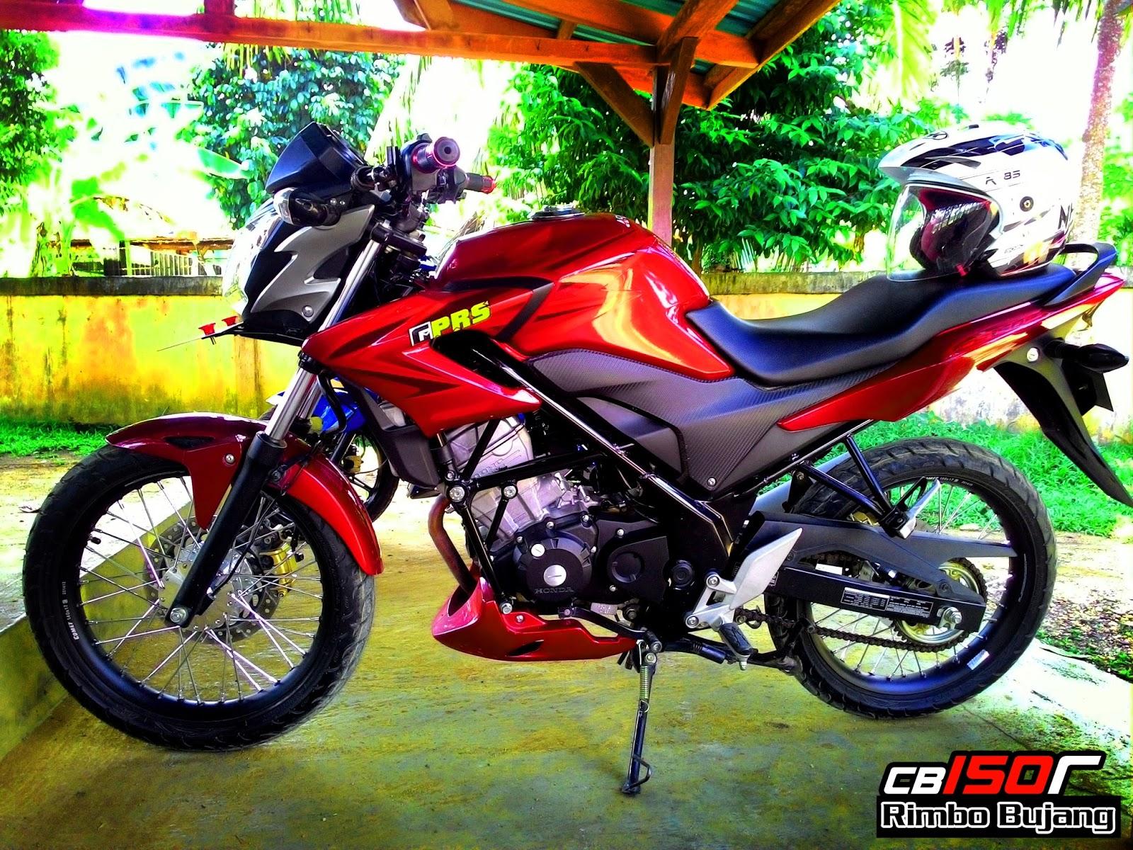 Kumpulan Modif Motor Cb 150 R Jari Jari Modifikasimania